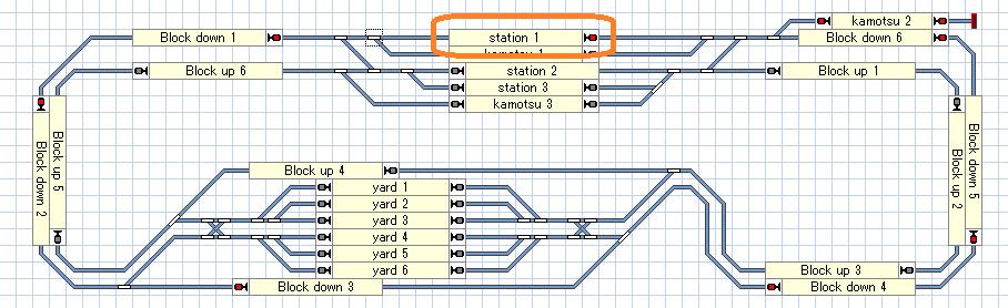 Train controller 停車位置 鉄道模型 自動運転
