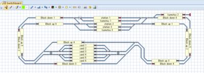 鉄道模型 自動運転 DCC train controller