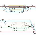 電源区画とギャップの設定