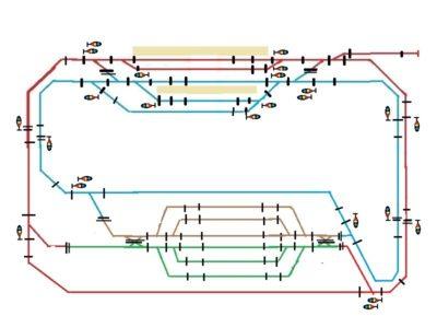DCC 電源区画 ギャップ