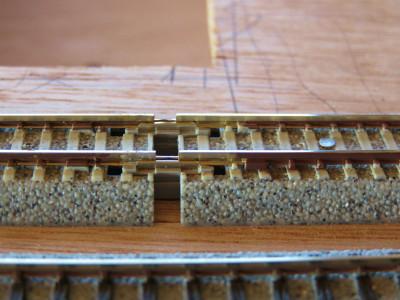 KATOユニトラックから規格外サイズの線路を作る6