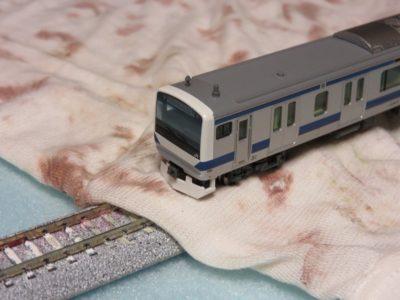 鉄道模型 車両 メンテナンス