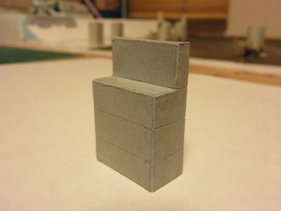 擁壁と橋桁の作成6