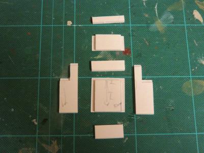 擁壁と橋桁の作成5