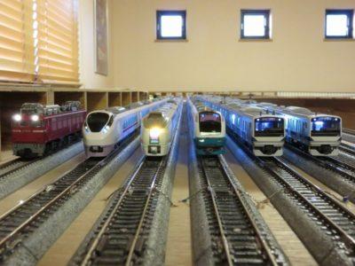 Nゲージ 鉄道模型 大型レイアウト