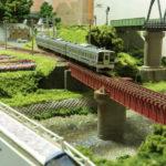JR水戸(単線ローカル線レイアウト) 情景詳細3