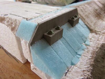 擁壁と橋桁の作成3
