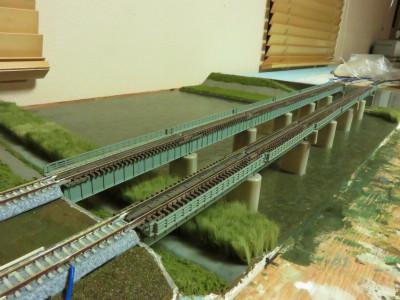 川 鉄橋 レイアウト4