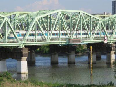 複線 レイアウト 鉄橋