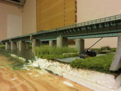 川 鉄橋 レイアウト3