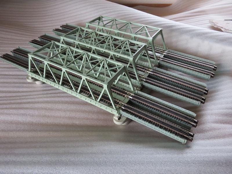 レイアウト 鉄橋 鉄道模型