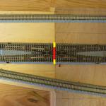 KATOユニトラックのダブルクロスをDCC自動運転仕様に設定する