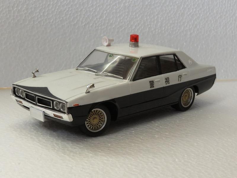 ケンメリ パトカー 西部警察 プラモデル ミニカー