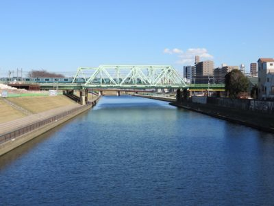 新河岸川橋梁 東北本線