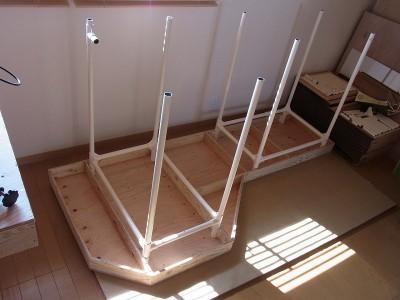 台枠の作成2