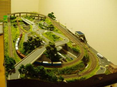単線ローカル線レイアウト2