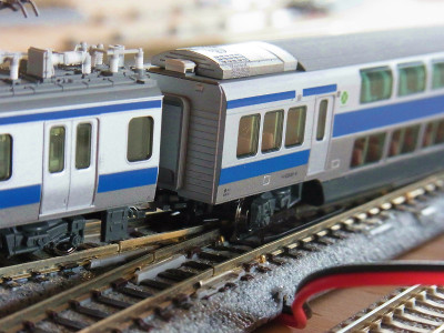 KATOユニトラック4番ポイント 脱線 改良 5