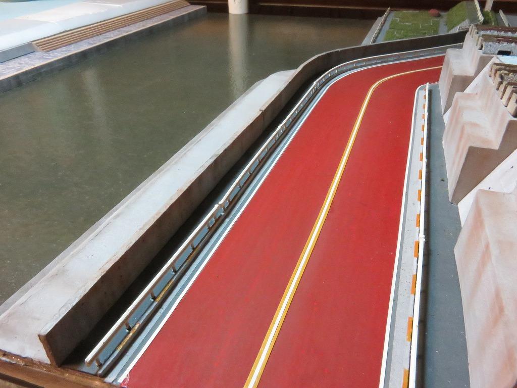 土手 レイアウト ジオラマ 鉄道模型