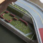 新河岸川の堤防の作成