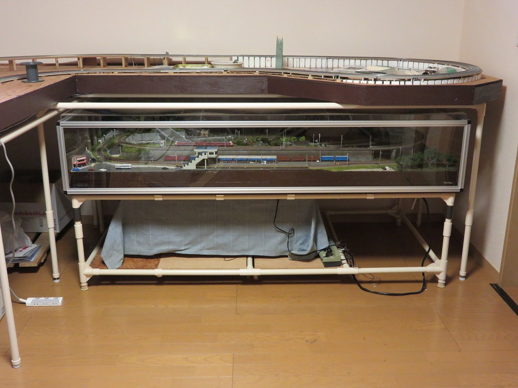 鉄道模型 レイアウト 台枠 拡張 移設