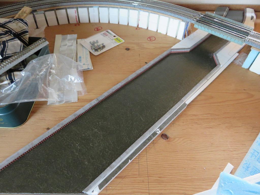 鉄道模型 レイアウト 川 橋梁